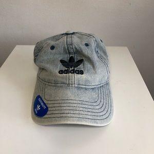Denim wash Adidas hat